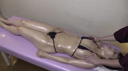 水上由紀恵 媚薬オイルエステで乳首マッサージされてイカされちゃう人妻
