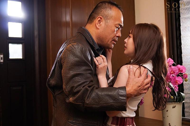 小倉由菜SOD3月新作「夫に言えない義父との姦淫」ベロチュー尽くしの濃厚接吻NTRドラマ!!