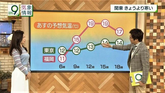 桑子真帆~NEWS WATCH 9で超突き出たニット服での胸元にニュースそっちのけで興奮!0005shikogin