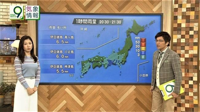 桑子真帆~NEWS WATCH 9で超突き出たニット服での胸元にニュースそっちのけで興奮!0007shikogin