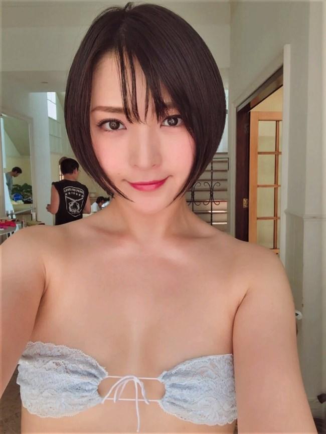 鈴木咲~ショートヘアの女神的なグラドルがついにAV転身か?ラストDVDが意味深!0002shikogin
