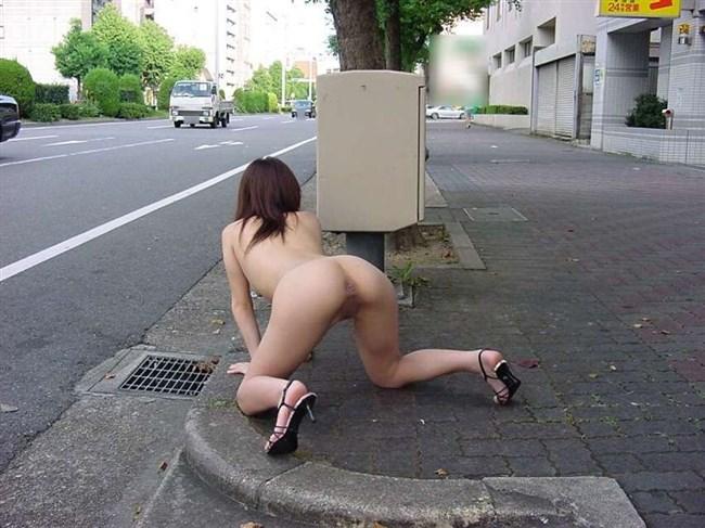 あり得ないところで全裸ヌードになってしまう露出狂とかいう変態人種www0006shikogin