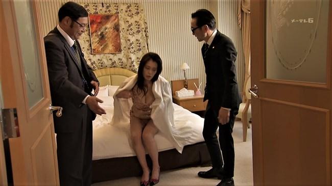 平塚千瑛~特捜9出演時の胸の谷間丸見えのドレス姿がエロ過ぎ!パンティーも丸見え!0008shikogin
