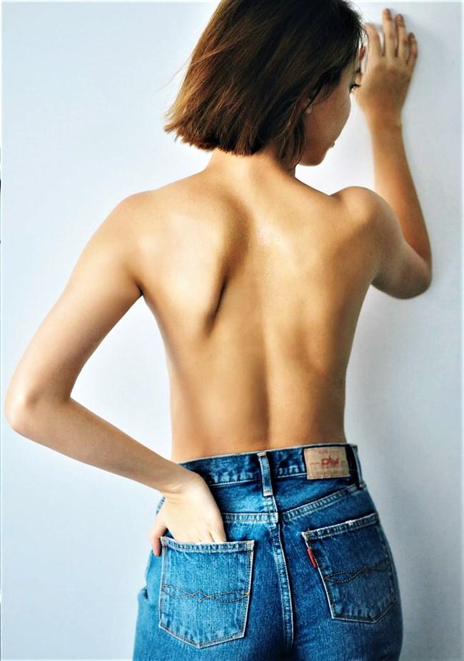 滝沢カレン~FLASHグラビアは上半身ヌードの妖艶な色香を猛アピール!0008shikogin