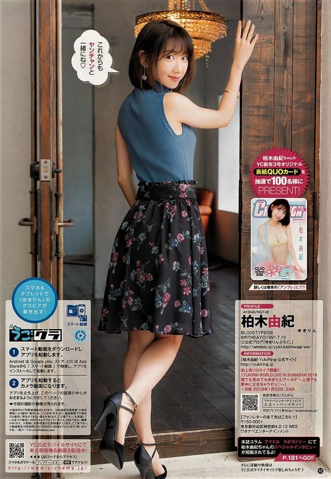 柏木由紀[AKB48]~水着グラビア!髪を切りオッパイも小さくなったのは何故なのか!?0009shikogin