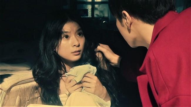 芳根京子~月9ドラマ海月姫でウェディングドレス姿の胸元から乳首ポロリか!?0003shikogin