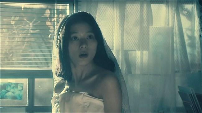 芳根京子~月9ドラマ海月姫でウェディングドレス姿の胸元から乳首ポロリか!?0004shikogin