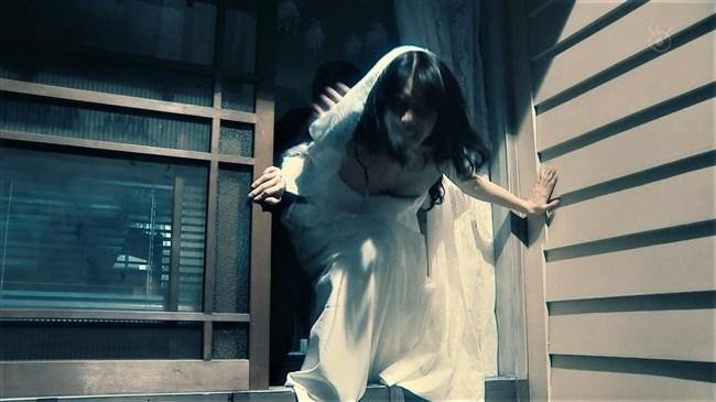 芳根京子~月9ドラマ海月姫でウェディングドレス姿の胸元から乳首ポロリか!?0007shikogin