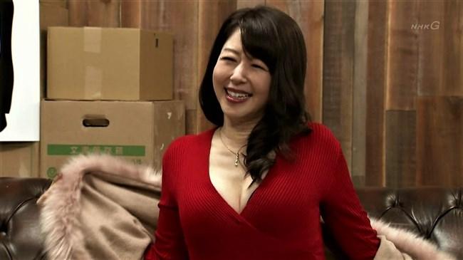 堀内敬子~NHKのコント番組で凄い胸の谷間を見せていたのが超エロくて興奮!0004shikogin