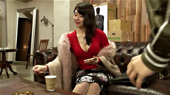 堀内敬子~NHKのコント番組で凄い胸の谷間を見せていたのが超エロくて興奮!0012shikogin
