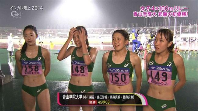 この陸上女子選手たちはエロ目線でしか見れないwwwww0004shikogin