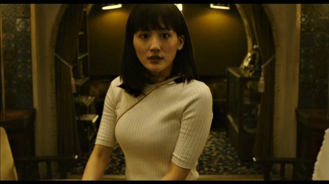 綾瀬はるか~本能寺ホテルのテレビ初放映で明らかになった巨乳過ぎるヒロイン!0005shikogin