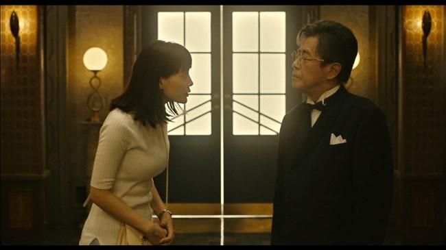 綾瀬はるか~本能寺ホテルのテレビ初放映で明らかになった巨乳過ぎるヒロイン!0010shikogin
