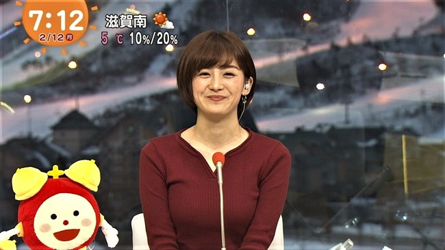 宮司愛海~平昌オリンピックの中継で胸の膨らみがあまりにデカくて騒然となる!0011shikogin