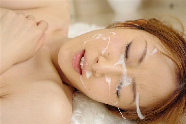 1ヵ月分のザーメンを綺麗な顔にしこたまぶっかけた結果wwwwww0004shikogin