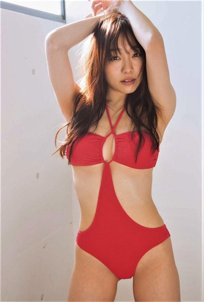 須田亜香里[SKE48]~FLASHの極エロ水着グラビアのデカヒップに右手が止まらない!0014shikogin