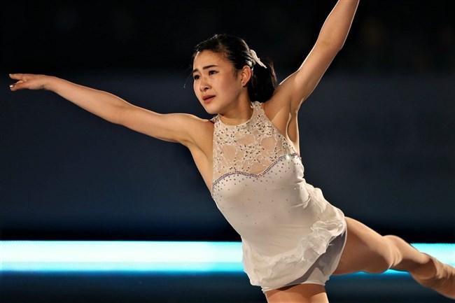 村上佳菜子~平昌オリンピック中継を解説する姿が超可愛い!現役時代のエロ画像と!0012shikogin