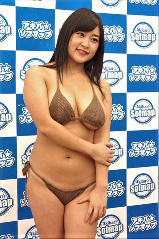 深井彩夏~Gカップのエロボディーがさく裂した水着グラビアは柔らかさを感じるぞ!0012shikogin
