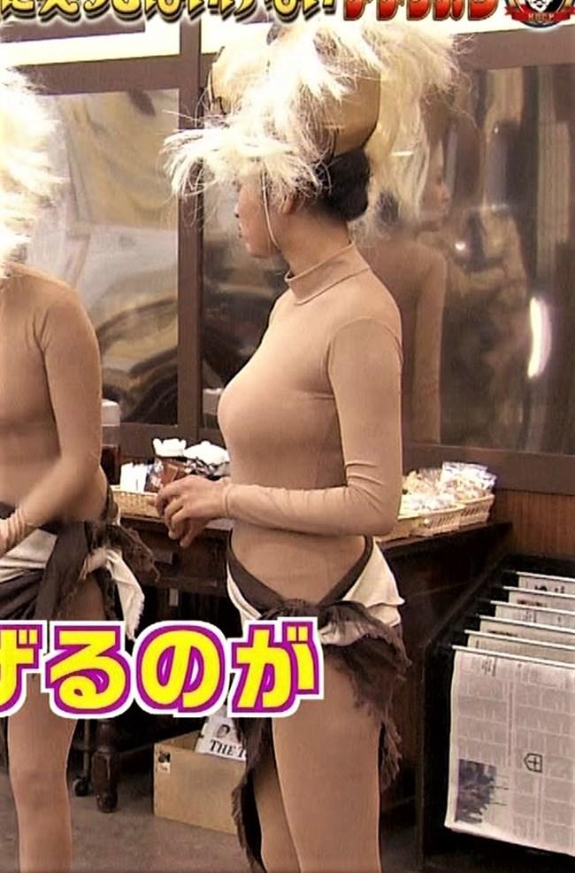 夏菜~笑ってはいけないでの全身タイツ姿が巨乳過ぎて思わず身を乗り出したぞ!0006shikogin