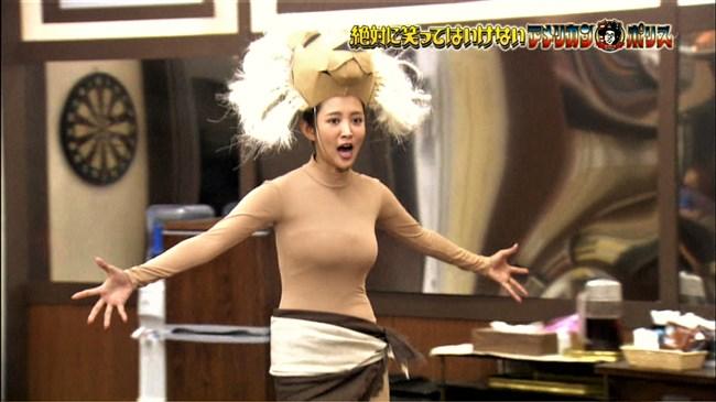 夏菜~笑ってはいけないでの全身タイツ姿が巨乳過ぎて思わず身を乗り出したぞ!0009shikogin