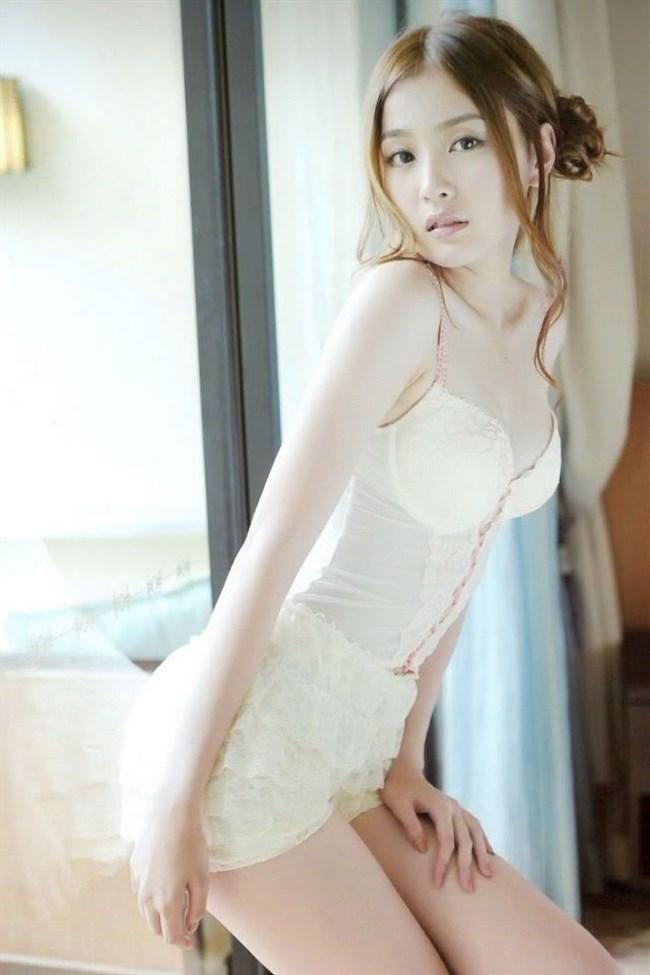 下着モデルの顔面偏差値がガチで高い香港女性wwwwww0008shikogin