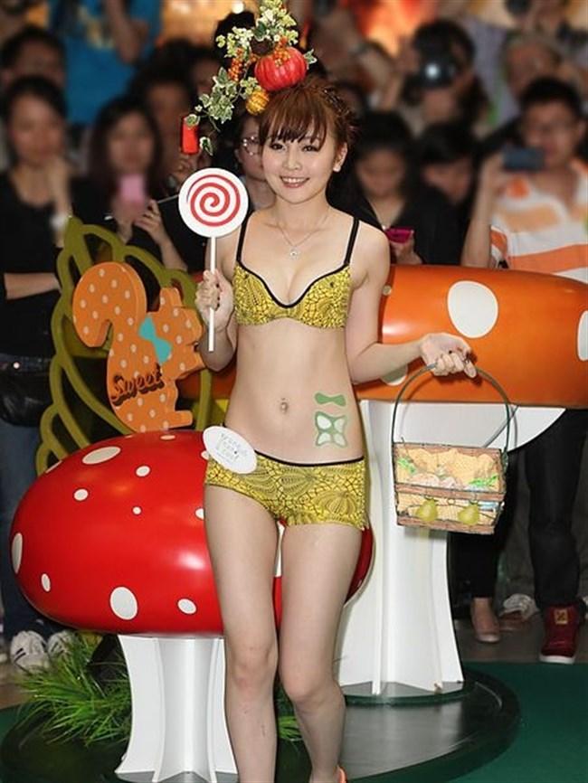 下着モデルの顔面偏差値がガチで高い香港女性wwwwww0016shikogin