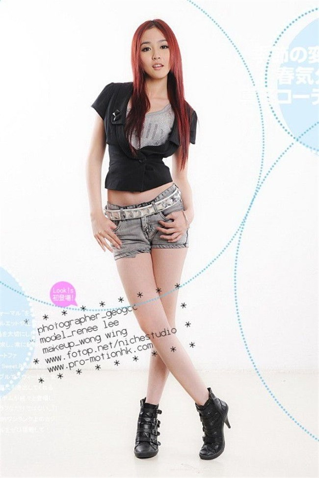下着モデルの顔面偏差値がガチで高い香港女性wwwwww0025shikogin