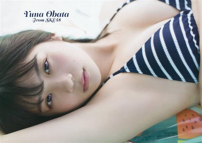 小畑優奈[SKE48]~ヤングガンガンの水着グラビアはエロ可愛さが極まってる!0008shikogin