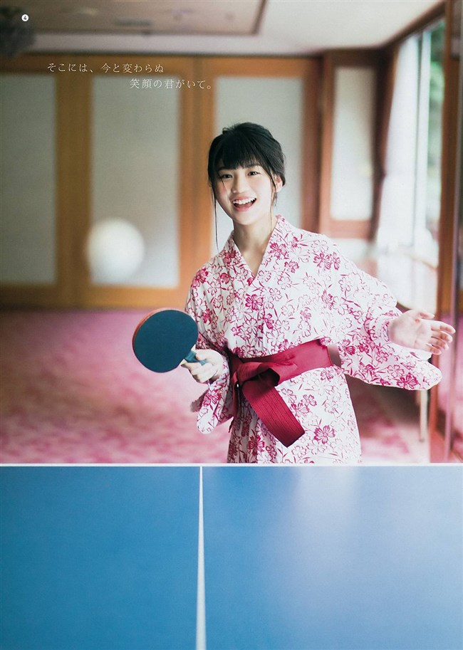 小畑優奈[SKE48]~ヤングガンガンの水着グラビアはエロ可愛さが極まってる!0012shikogin