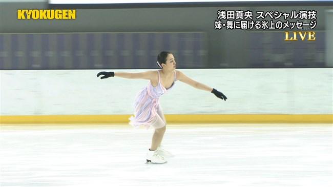 浅田真央~KYOKUGENの現役最後のコスチューム姿が胸元ポロリで超ドキドキ!0006shikogin