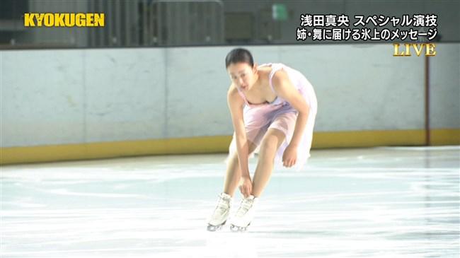 浅田真央~KYOKUGENの現役最後のコスチューム姿が胸元ポロリで超ドキドキ!0009shikogin