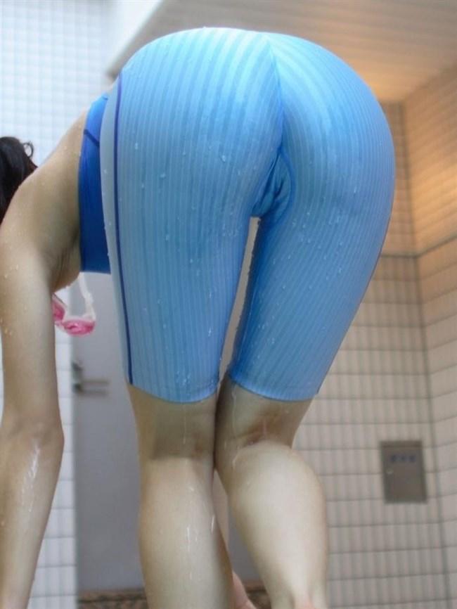 競泳水着のお尻への食い込み特化画像wwwwww0008shikogin
