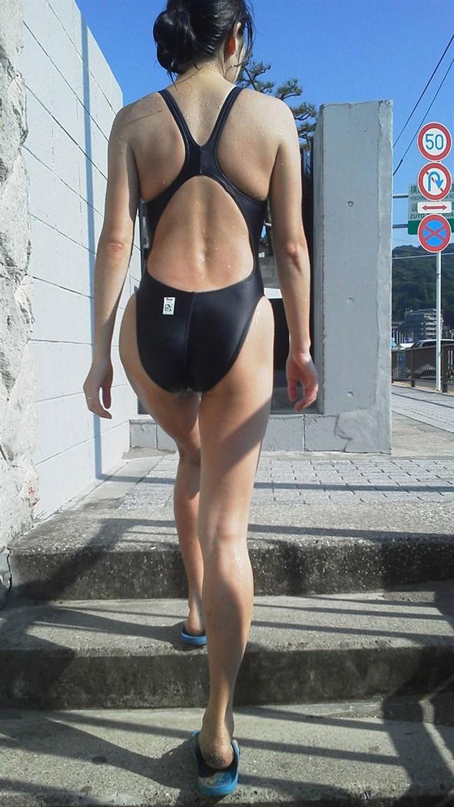 競泳水着のお尻への食い込み特化画像wwwwww0030shikogin