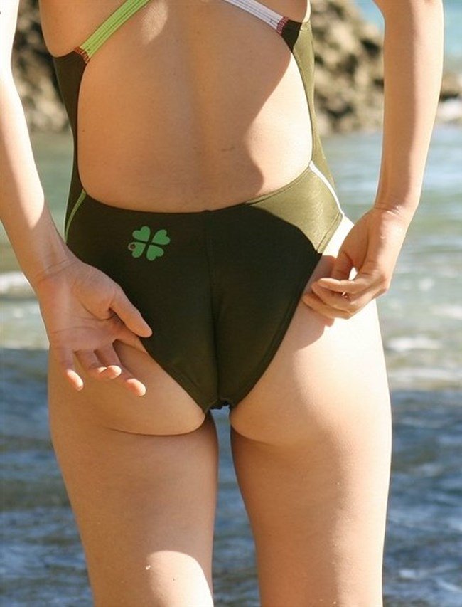 競泳水着のお尻への食い込み特化画像wwwwww0045shikogin