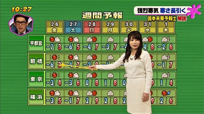 國本未華~PON!での天気予報は天気図よりもオッパイにしか目がいかなかった!0004shikogin
