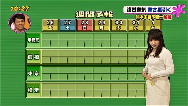 國本未華~PON!での天気予報は天気図よりもオッパイにしか目がいかなかった!0003shikogin