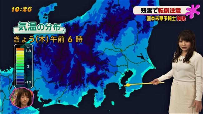 國本未華~PON!での天気予報は天気図よりもオッパイにしか目がいかなかった!0008shikogin