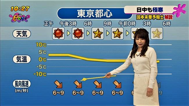 國本未華~PON!での天気予報は天気図よりもオッパイにしか目がいかなかった!0013shikogin