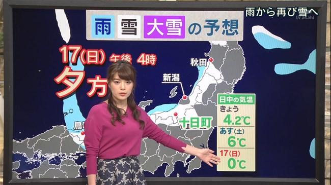 三谷紬~ユサユサした感じの天気予報の横チチが超イヤらしく着エロを観てるよう!0006shikogin