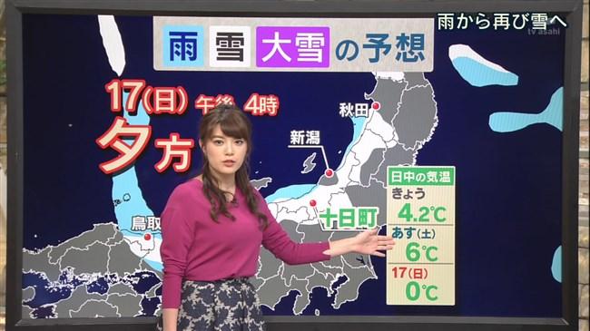 三谷紬~ユサユサした感じの天気予報の横チチが超イヤらしく着エロを観てるよう!0008shikogin