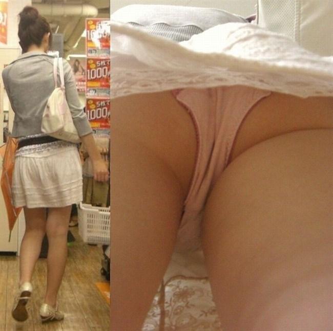 スカート女子を真下から覗き見する禁断の絶景がこちらwwww0021shikogin
