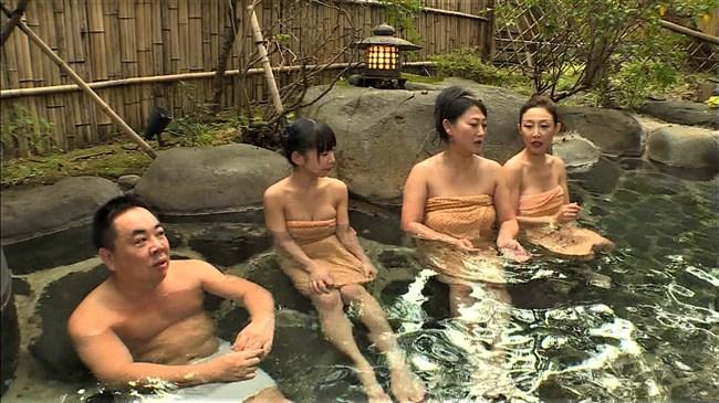 長澤茉里奈~旅ずきんちゃんの温泉ロケでのオッパイ出しが放送事故寸前の極エロ!0005shikogin
