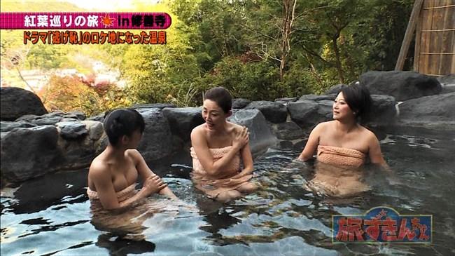 長澤茉里奈~旅ずきんちゃんの温泉ロケでのオッパイ出しが放送事故寸前の極エロ!0008shikogin
