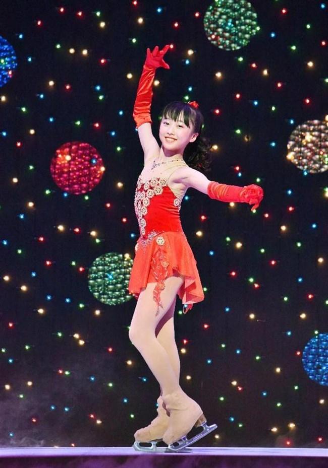 本田望結~最近アイススケートのコスチューム姿に色香が出てきて萌えてきてます!0008shikogin