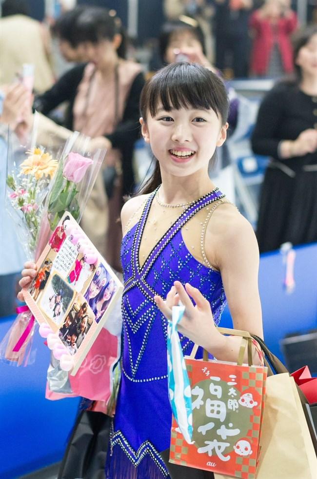 本田望結~最近アイススケートのコスチューム姿に色香が出てきて萌えてきてます!0009shikogin