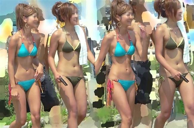 もうすぐ海水浴シーズン!真夏のビーチではしゃぐ素人女子の破廉恥な水着姿を予習www0004shikogin