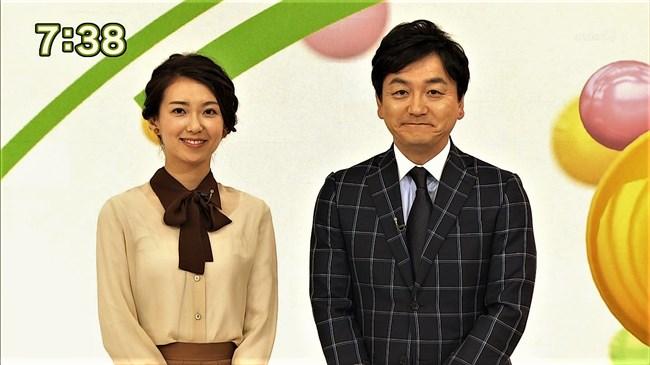 和久田麻由子~NHKの清楚な美人アナがまさかのブラ透け!アンダーずれか?0011shikogin