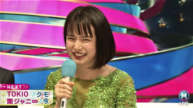 弘中綾香~Mステ特番での衣装が胸元開いてて豊かな谷間が見えててエロ過ぎ!0010shikogin