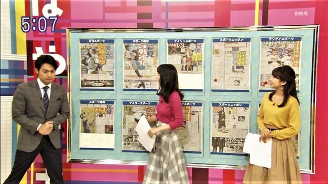 山本恵里伽~美し過ぎる女子アナのニット服姿でオッパイを強調!たまらんぞな!0007shikogin