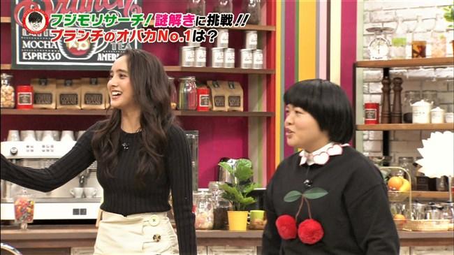 石田ニコル~王様のブランチでのニット服のオッパイがたわわでエロ過ぎ!0005shikogin
